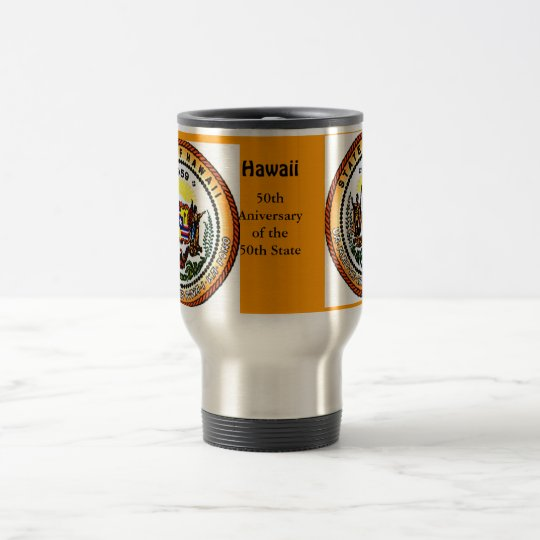 Hawaii 50th Mug