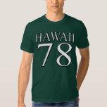 Hawaii 78 remera