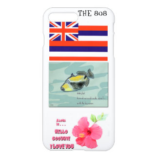 Hawaii 808 iPhone 7 CASE with state icons