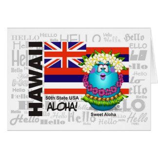Hawaii - Aloha Card