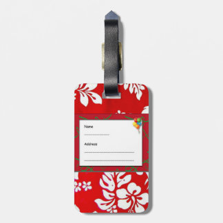 HAWAII ALOHA COLLECTION BAG TAG
