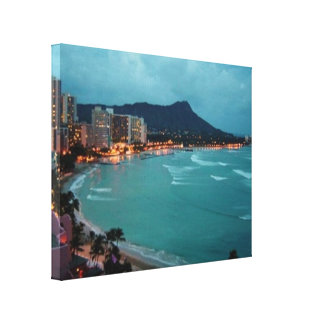 HAWAII ALOHA COLLECTION CANVAS PRINT