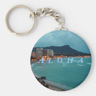 HAWAII ALOHA COLLECTION KEYCHAIN