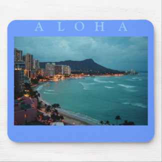 HAWAII ALOHA COLLECTION MOUSE PAD