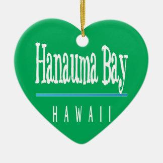 Hawaii Aloha Hanauma Bay Ceramic Ornament