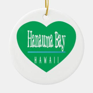 Hawaii Aloha Hanauma Bay Ornaments