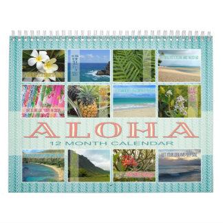 Hawaii Aloha Quotations/Photography Calendar