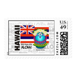 Hawaii -  Aloha Stamp