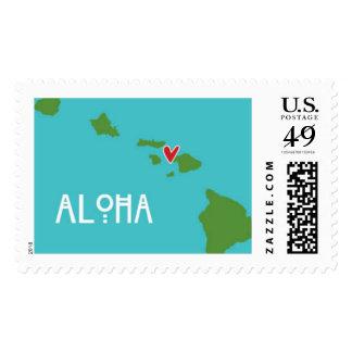 Hawai'i Aloha Stamp - Maui Destination Wedding