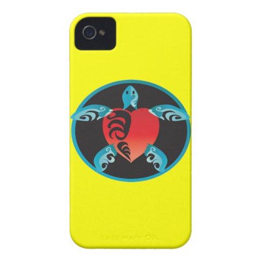 Hawaii Aloha Turtle Case-Mate iPhone 4 Cases