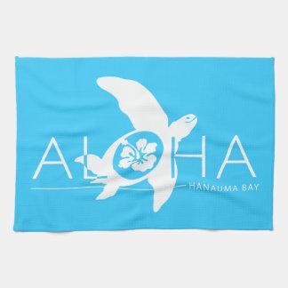 Hawaii - Aloha Turtle Kitchen Towel