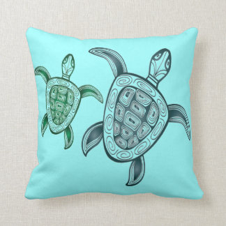 Hawaii Aloha Turtle Pillows