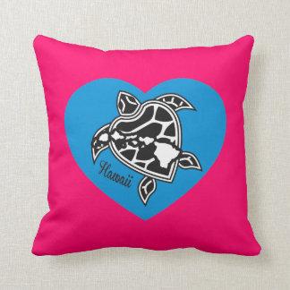 Hawaii Aloha Turtle Pollow Throw Pillows