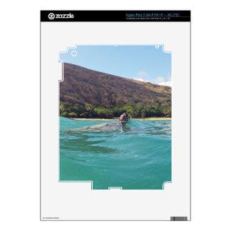 Hawaii Aloha Turtle iPad 3 Decal