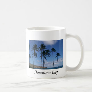Hawaii, bahía de Hanauma Tazas De Café