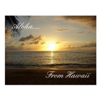 Hawaii Beach 3, Aloha...., From Hawaii Postcard