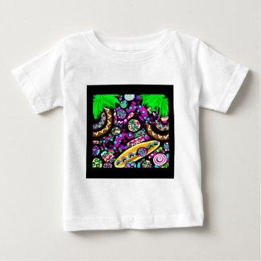 Beach Themed Hawaii.Beach Baby T-Shirt
