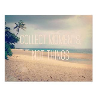 Hawaii Beach Collect Moments Postcard