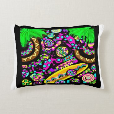 Beach Themed Hawaii.Beach Decorative Pillow