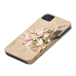 Hawaii Beach Flowers Case-Mate iPhone 4 Cases