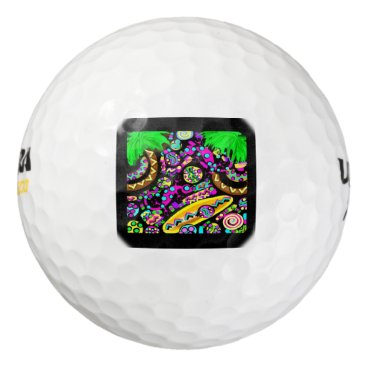 Beach Themed Hawaii.Beach Golf Balls