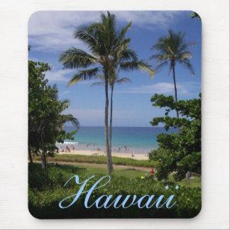 Hawaii Beach Scene Mouse Pad