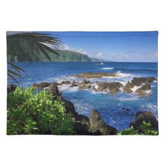 Hawaii Beach Scenery Cloth Placemat