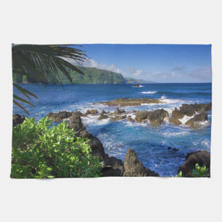 Hawaii Beach Scenery Towel