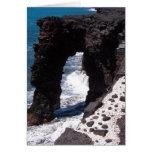 Hawaii Beach Stone Arch Cards