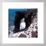 Hawaii Beach Stone Arch Print