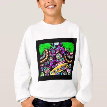 Beach Themed Hawaii.Beach Sweatshirt