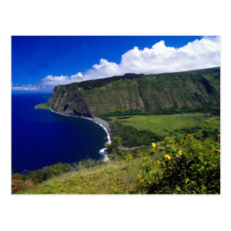 Hawaii Beautiful Beach and Mountains Postcards