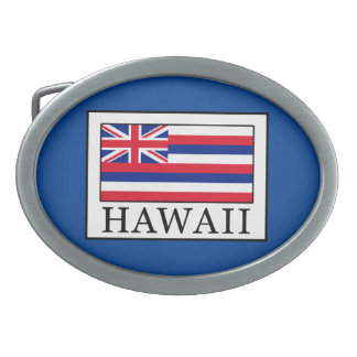 Hawaii Belt Buckle