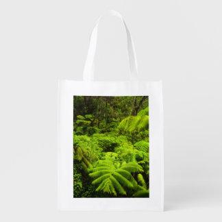 Hawaii, Big Island, Lush tropical greenery in Grocery Bag
