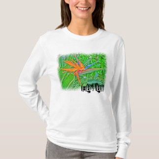 Hawaii bird paradise hoodie