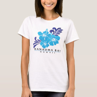 Hawaii Blue Hibiscus Flowers T-Shirt