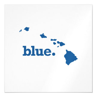 HAWAII BLUE STATE MAGNETIC CARD