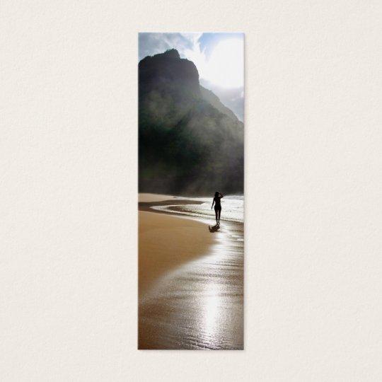 Hawaii Bookmark - Island in the Sun Mini Business Card