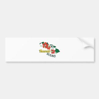 Hawaii Bound Bumper Sticker