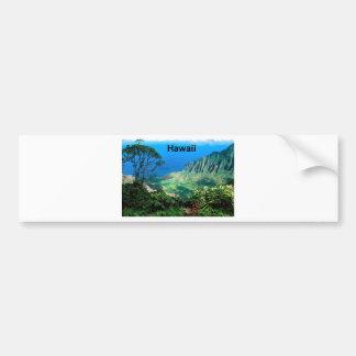 Hawaii Breezes Kalalau Valley Kauai (St.K.) Bumper Sticker