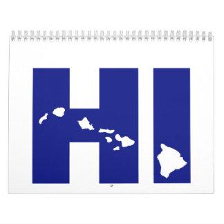 Hawaii Calendarios