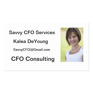 Hawaii CFO Consulting Business Card Templates