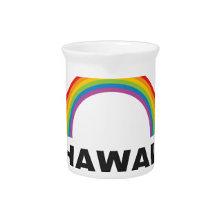hawaii color arch drink pitcher