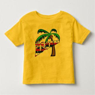 Hawaii con los productos de la palmera playeras