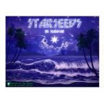 Hawaii-cubierta de Starseedin Tarjetas Postales