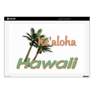 """HAWAII DECAL FOR 17"""" LAPTOP"""