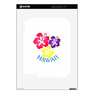 Hawaii Decal For iPad 2