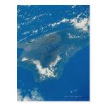 Hawaii del espacio tarjeta postal