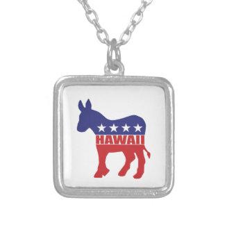 Hawaii Democrat Donkey Custom Necklace