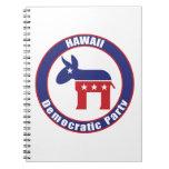 Hawaii Democratic Party Spiral Notebook